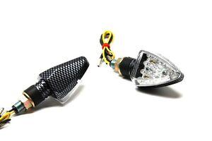 UNIVERSALE-b1-2-MINI-LED-lampeggianti-laterali-moto-QUAD-ATV-PER-YAMAHA-TT