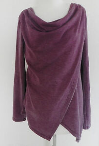 Rustic M Burgundy Sleeve Long Andrew Wrap Style Top Size Performance Tone Mars WWqS6zA