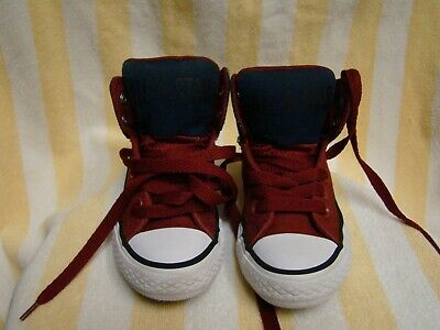 Converse All Star Chuck Taylor High Junior U.S. 11 Shoes 654277F, Free Shipping! | eBay