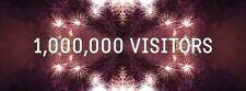 1 MILLION+VISITORS FOR YOUR WEBSITE ALEXA IMPROVE+ADSENSE /SEO SAFE TRAFFIC