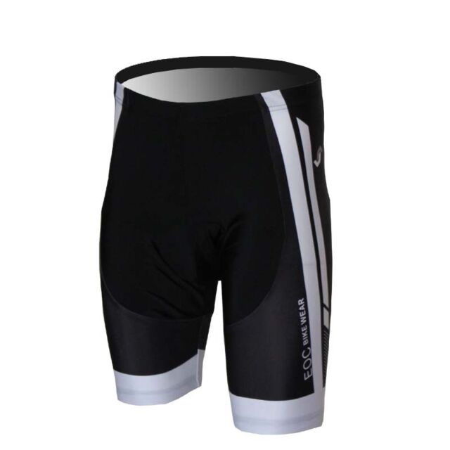 New Men's Cycling Shorts Half Pants 3D Padded Bike/Bicycle Size S-3XL EOCS10
