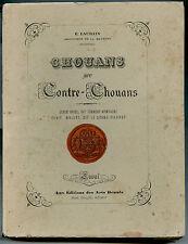 Chouans et Contre-Chouans par E. Laurain, Denis Brice, Daniel Oehlert, Maine