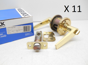 WEISER LA330 B RLR1 KIM RADIUS R1 PRIVACY LOCKSET K3 LOT OF 11