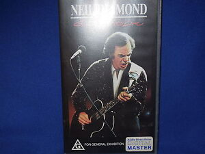 NEIL-DIAMOND-GREATEST-HITS-LIVE-AUSTRALIAN-VHS