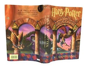 1st Edition Early Printing Harry Potter and the Sorcerer's Stone BCE DJ
