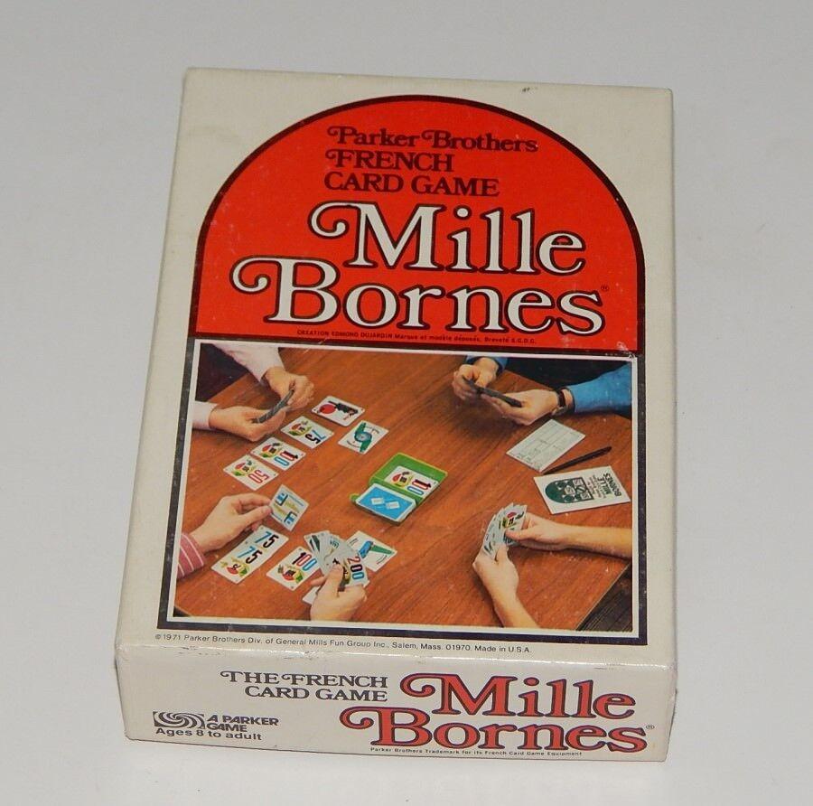 Mille Bornes Completo 1971 Parker Brojohers Excelente R14579