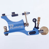 Pro Blue Aluminum Alloy Rotary Tattoo Machine Guns For Liner Shader Motor Tool