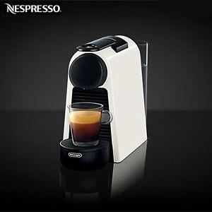 Nespresso-Essenza-MINI-D30-DE-039-LONGHI-Coffee-Machine-Maker-Capsule-White
