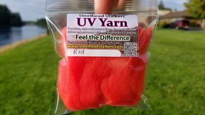 UV Steelhead Yarn Peachy