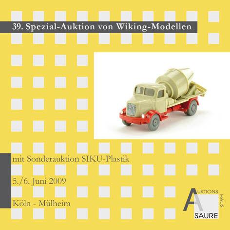 Wiking-subasta con siku-subasta Catálogo de subasta 39