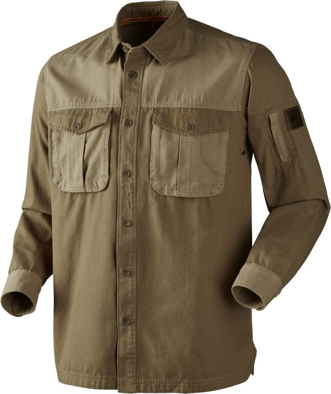Härkila caza camisa pH range ls-sand - 140110141 - 100% Cotton