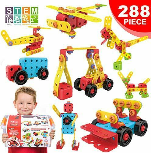 LUKAT STEM Learning Toys Creative Building Toys for 4 5 6 ...