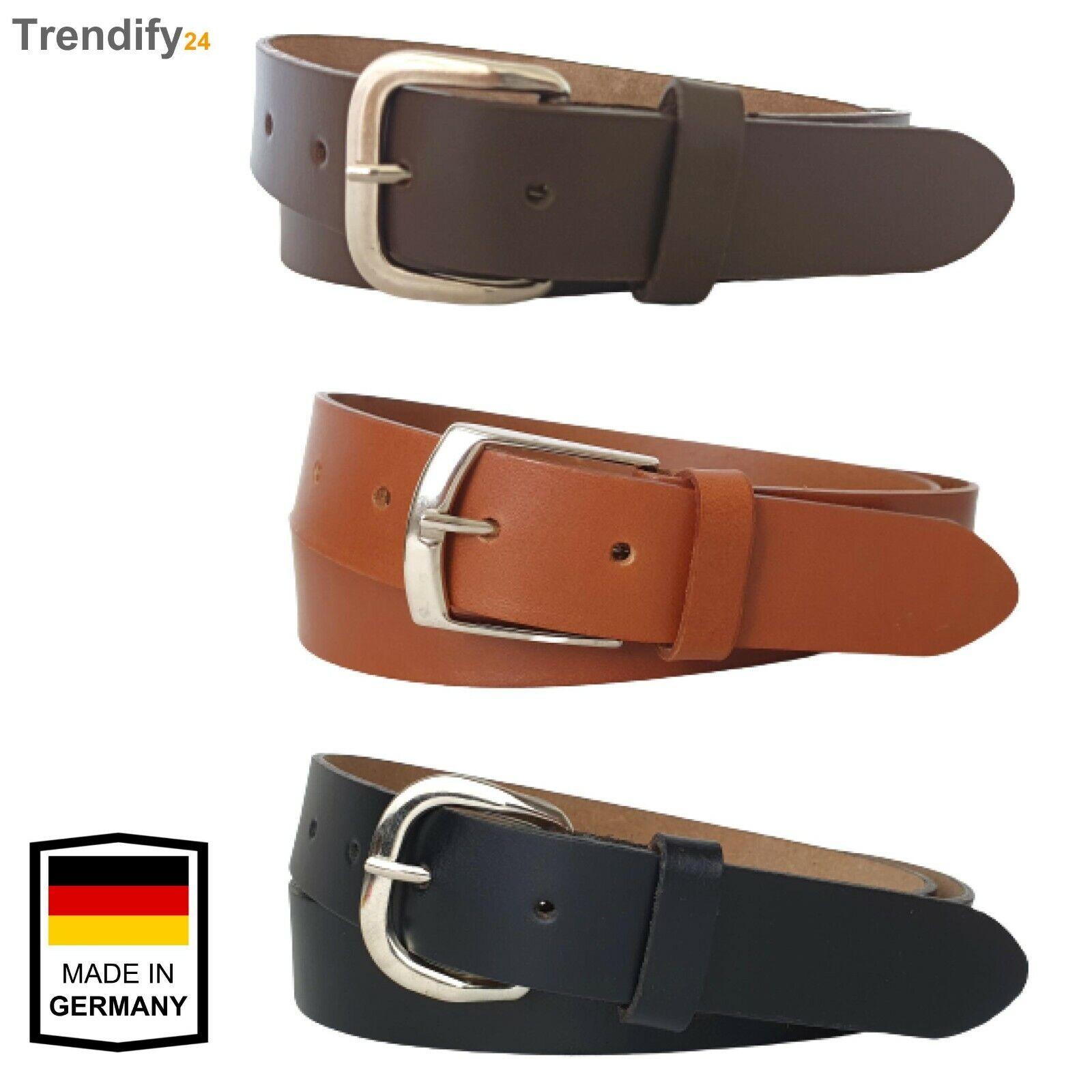100% Echt Leder Gürtel 3 cm Herren Gürtel braun schwarz Jeans Gürtel Anzug Hose