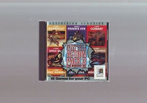Activision's Atari 2600 Action Pack 3 for Windows 95, 12 Games, 1995