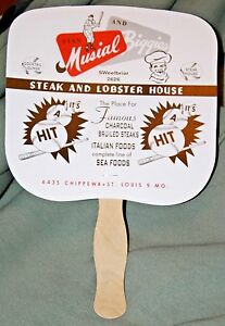 Several-As-Found-Stan-Musial-and-Biggies-Hand-Fans-MINT