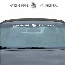 San Diego Padres Auto Windshield Decal [NEW] Car Wind Shield Sticker Emblem MLB
