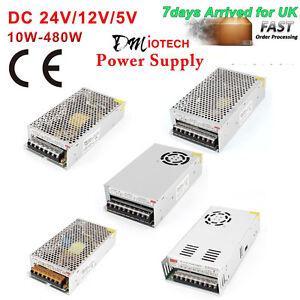 LED-Strip-Light-LED-Driver-Power-Supply-Transformer-DC-5V-12V-24V-UK-STOCK