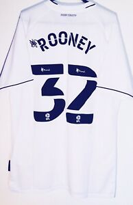 Last One! *BNWT* 20/21 Derby County Shirt #32 Rooney Size M Man Utd England