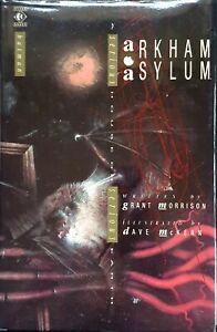 ARKHAM-ASYLUM-A-Serious-House-on-Serious-Earth-HARDBACK-1989-Joker-Two-Face-DC