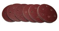 """RDGTOOLS 5"""" gancho y Bucle de los Discos de lijar (50 por paquete) P400 Arena 125MM"""