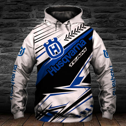 Husqvarna Chainsaw Motorcycles-Top Gift-Men/'s Hoodie 3D-Size S to 5XL