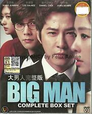 BIG MAN - COMPLETE KOREAN TV SERIES 1-16 EPS BOX SET (ENG SUB)