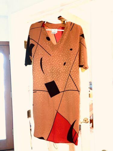 Flora Kung Dress 100% Silk