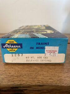 Athearn-HO-Scale-Illinois-Central-40-039-Box-Car-Kit-30130