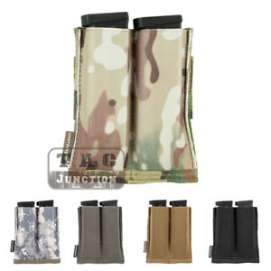 Emerson-Tactical-Fast-Draw-MOLLE-Double-Open-Top-Pistol-Magazine-Pouch-Holster