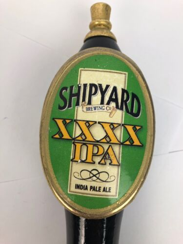 NEW SHIPYARD IPA XXXX BEER TAP HANDLE INDIA PALE ALE
