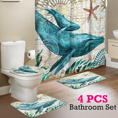 Bathroom Shower Curtain Non Slip Toilet