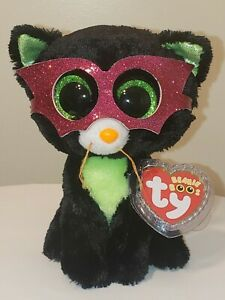 Ty Beanie Boos - JINXY the Halloween Black Cat (6 Inch) MINT with MINT TAGS