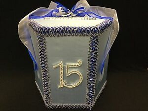 decorated gift card box quinceanera birthday sweet 16 customized