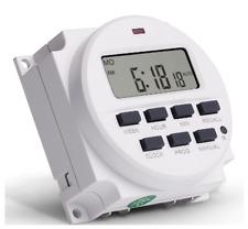 Tm618h 2 Sinotimer Display Programmable Lcd Digital Timer Time Switch 12v Dc