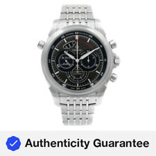 Omega DeVille Chronograph Steel Black Dial Automatic Watch 422.10.44.51.06.001