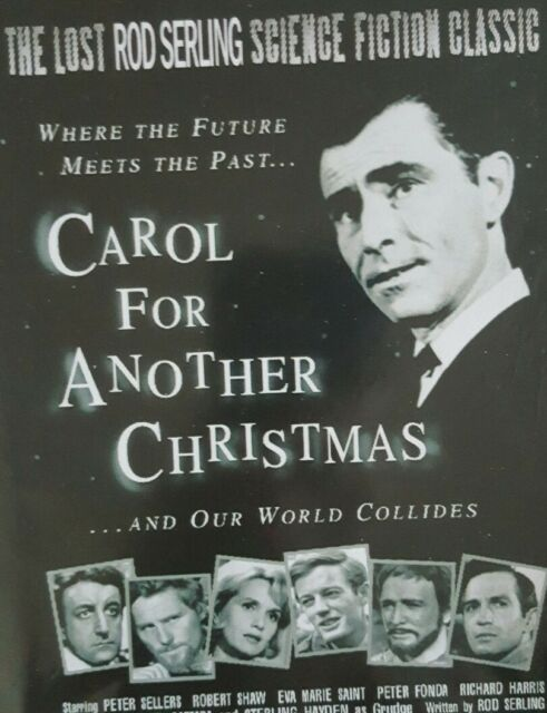 Christmas Icetastrophe.A Carol For Another Christmas Dvd 1964 Rod Serling Peter Sellers Sci Fi
