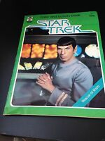 Star Trek TMP Color and Activity Book #1307, 1979 VG