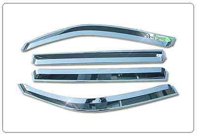 Chrome  Door Sun  Visor  Molding  For  SsangYong   Rexton 1. 2  (2001 ~ 2008)///