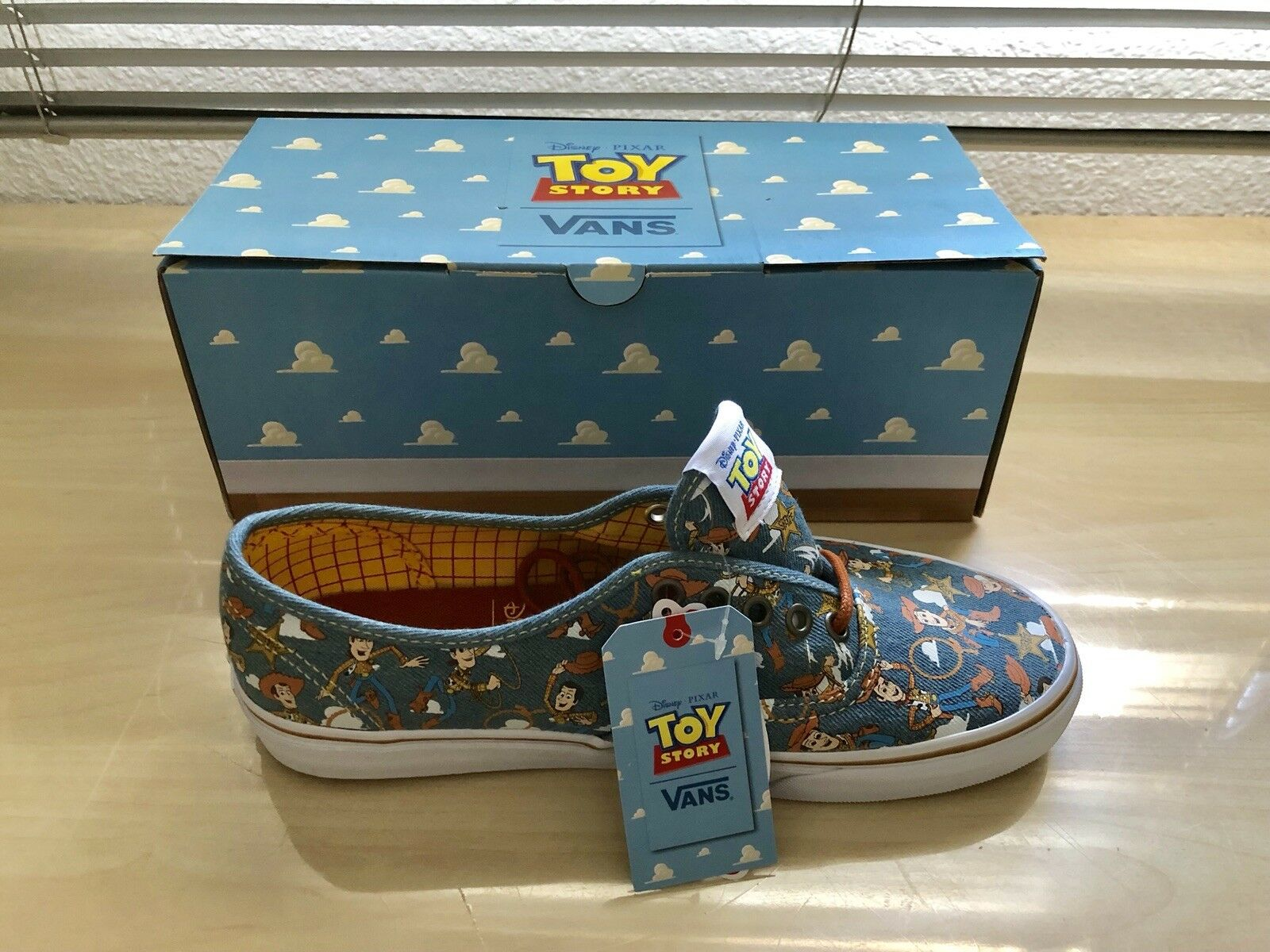 Vans Authentic Toy Story  Woody New Sealed | Elegante E Robusto Pacchetto  | Uomini/Donne Scarpa