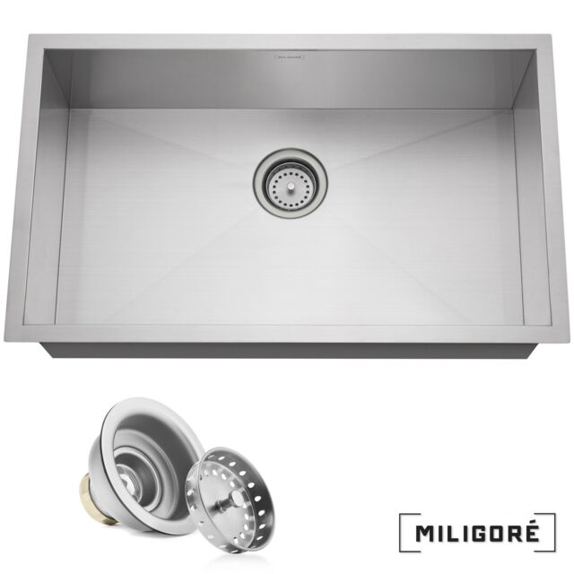 Upc Certified 32 X18 Undermount Kitchen Sink 18 G Stainless Steel Double Bowl For Sale Online Ebay