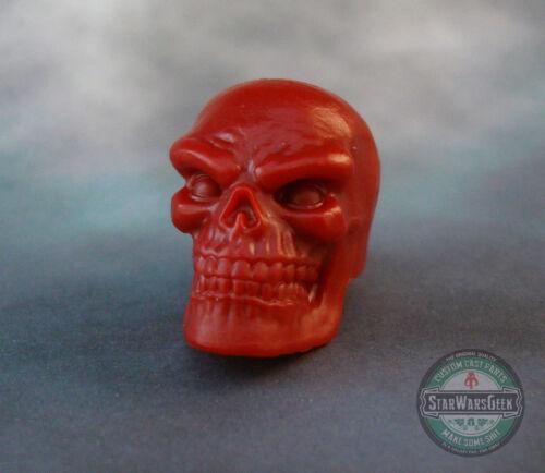 "ML113 Custom Cast BAF Red Skull head use with 6/"" Marvel Legends figures"