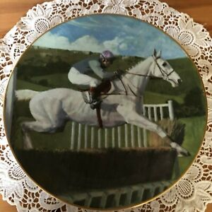 ROYAL-DOULTON-DESERT-ORCHID-LARGE-PLATE-COLLECTOR-039-S-GALLERY-LTD-EDITION-BOXED