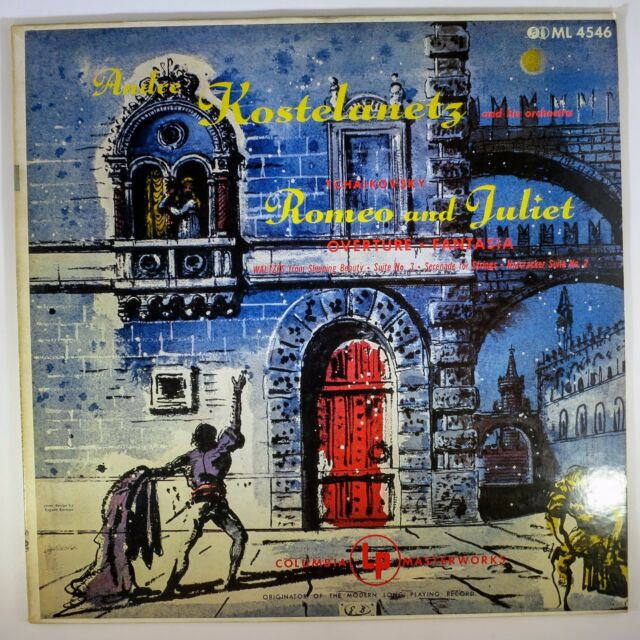 André Kostelanetz And His OrchestraPyotr Ilyich Tchaikovsky	Romeo And Juliet	ML