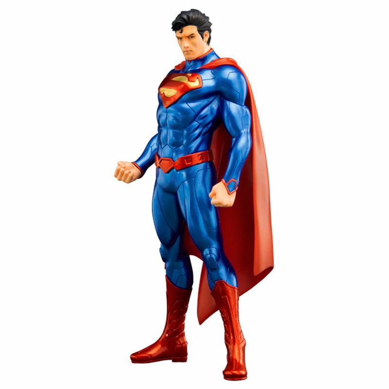Figura Superman Liga De La Justicia DC comics ARTFX Kotobukiya, 19 cm a 1:10