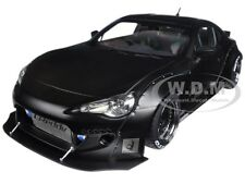 ROCKET BUNNY TOYOTA 86 MATT BLACK WITH BLACK WHEELS 1/18 MODEL BY AUTOART 78755