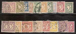 Suriname-Nummer-69-86-Gebruikt
