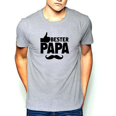 Bester Papa T-Shirt Vatertag Geschenkidee Mein Held Scherzartikel NEU NEW !!!!!