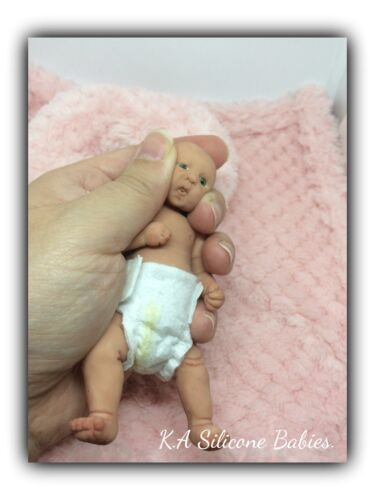 Full Body Mini silicone baby Girl Jasmine.