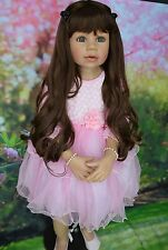 "Masterpiece Dolls Lelani Exclusive from Natalie Sculpt, 39"" by Monika Levenig"