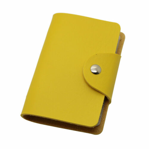 HOT SALE ID Credit Card Wallet Holder for 24 Cards Card Holder Multi Colors
